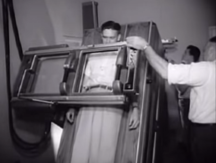 The hospital of the future, 1950 - video still