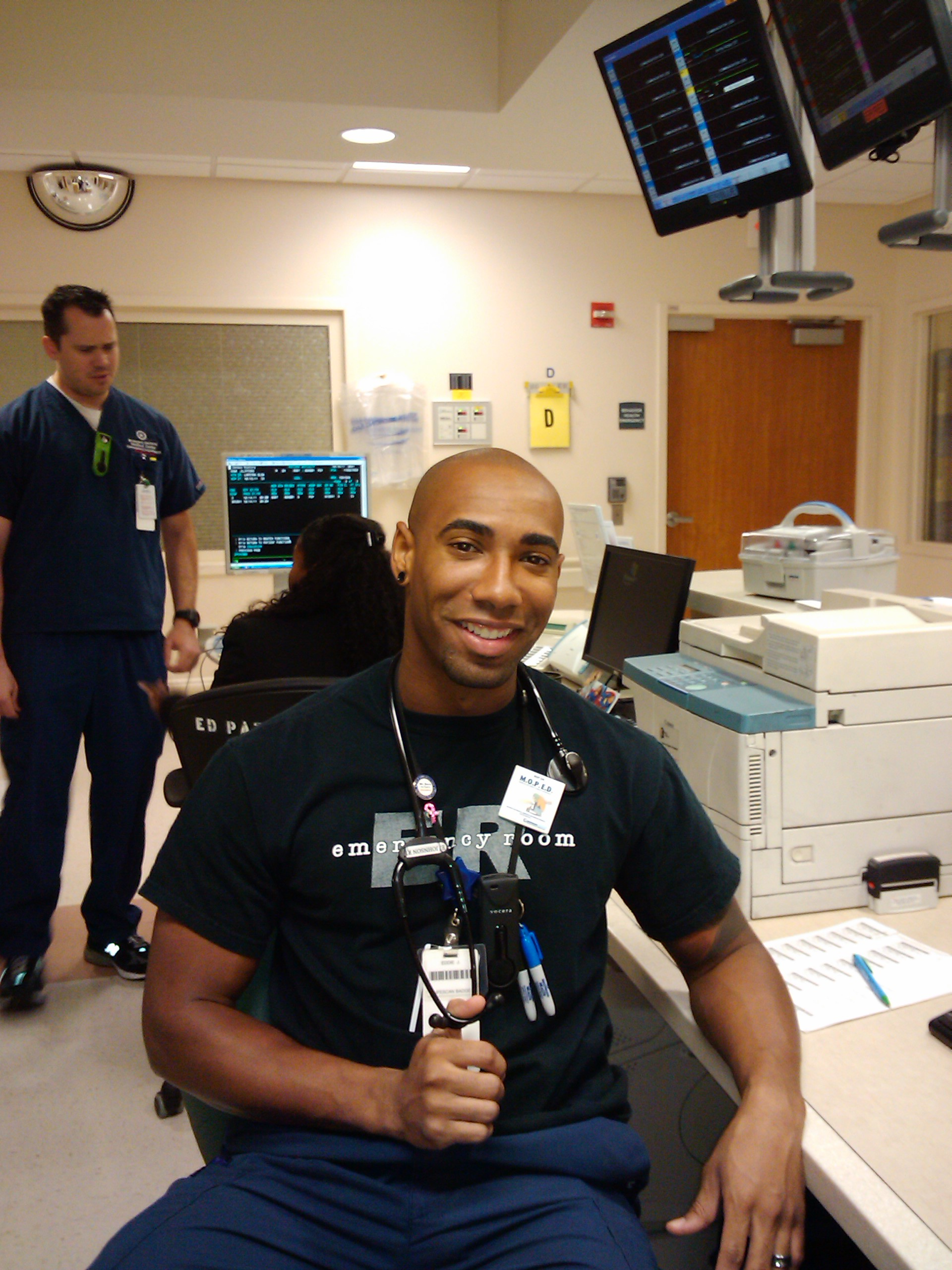 Photo of Fort Lauderdale ER Nurse Eddie Johnson